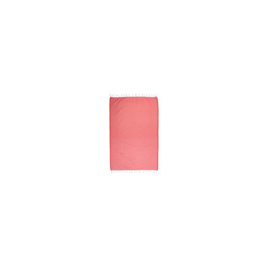Полотенце Barine Pestemal - Engin 100*180 Mandarin Red красное