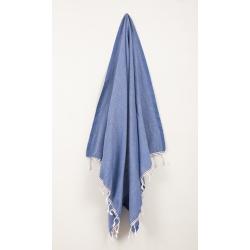 Полотенце Barine Pestemal - Engin 100*180 Denim синее, , 3