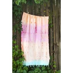 Полотенце Barine Pestemal - Rainbow Hippie 90*170, , 3