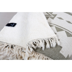 Плед микроплюш Barine - Rug Throw khaki 130*170, , 3