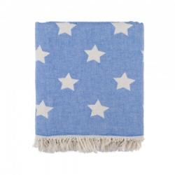 Плед микроплюш Barine - Star Throw blue 130*170, , 2