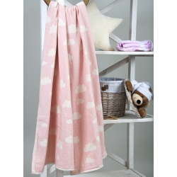 Плед-накидка Barine - Cloud Throw Pink 130*170, , 4