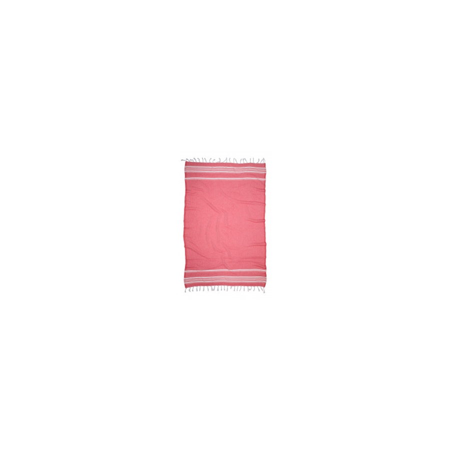 Полотенце Barine Pestemal - Recycle 95*165 Red красное