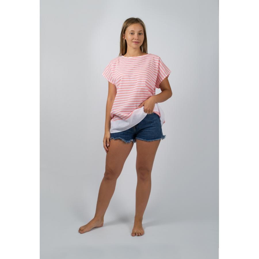 Пляжная туника Barine - White Imbat Shirt papaya S/M