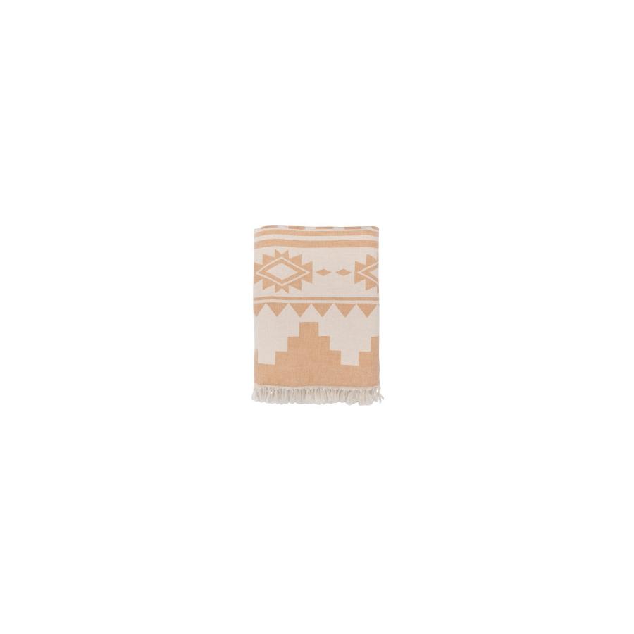 Плед микроплюш Barine - Rug Throw mustard 130*170