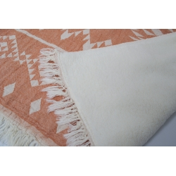 Плед микроплюш Barine - Kilim orange 130*170, , 3