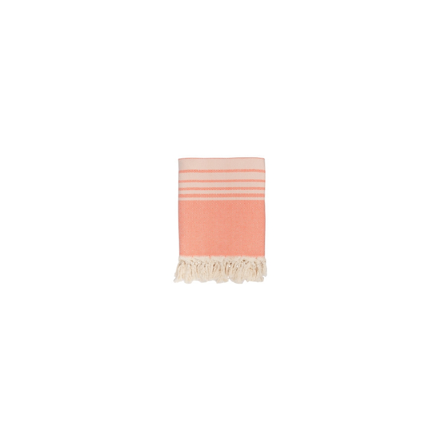 Плед микроплюш Barine - Quad Throw coral 150*200
