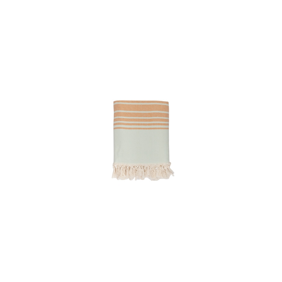 Плед микроплюш Barine - Quad Throw sage 150*200