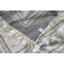 Плед-накидка Barine - Mono Throw grey серый  130*170, , 4