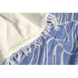 Плед-накидка Barine - Casomollis Throw mavi голубой 180*240, , 2