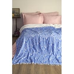 Плед-накидка Barine - Casomollis Throw mavi голубой 180*240, , 3