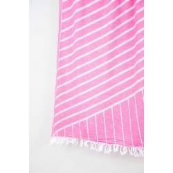 Полотенце Barine Pestemal - Cross 95*165 Pink розовое, , 3