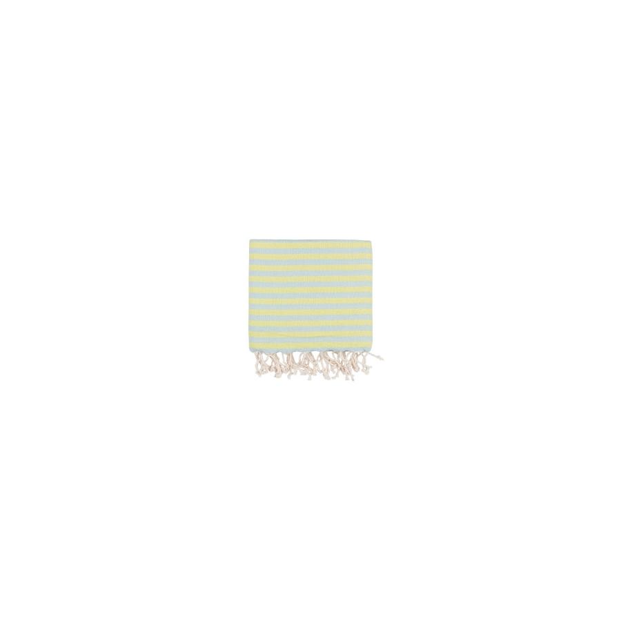 Полотенце Barine Pestemal - Herringbone 100*185 Mint-lime