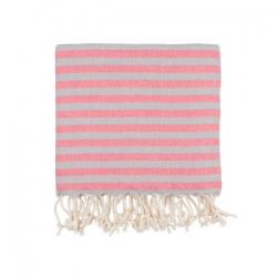 Полотенце Barine Pestemal - Herringbone 100*185 Grey-pink, , 2