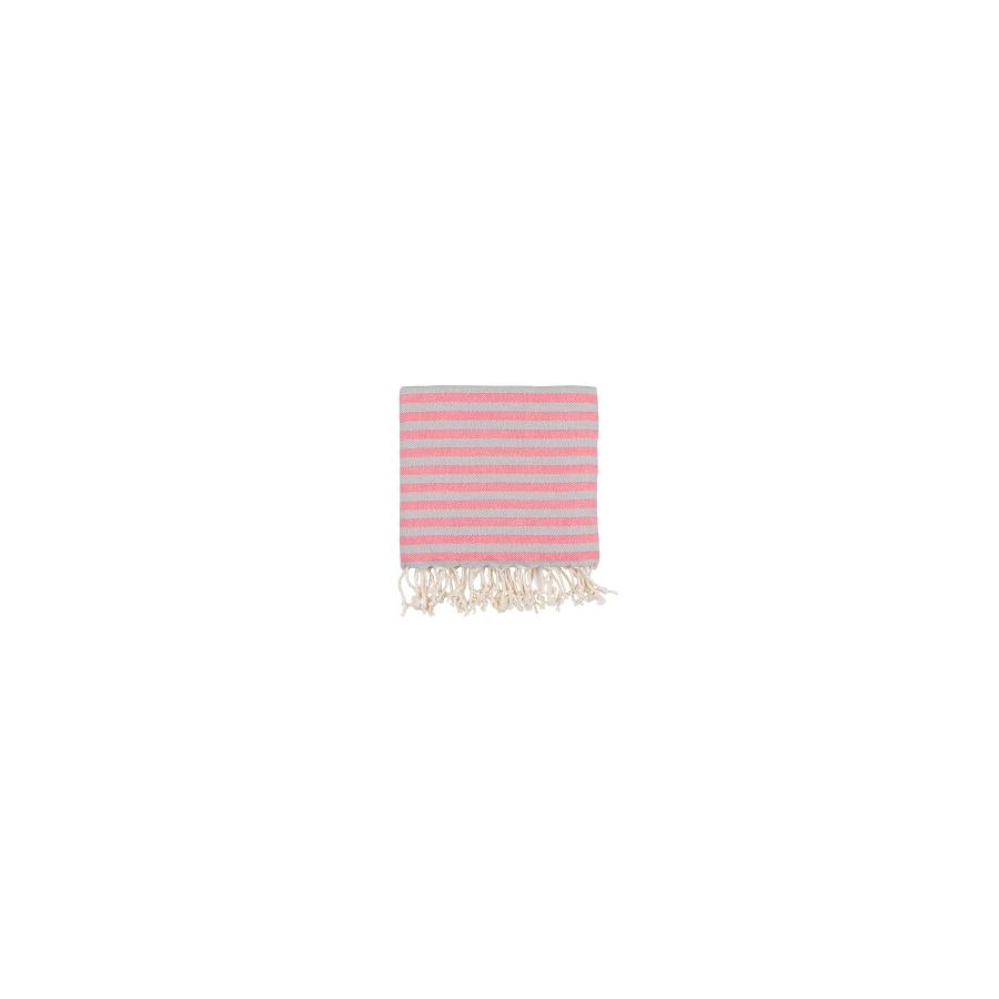 Полотенце Barine Pestemal - Herringbone 100*185 Grey-pink