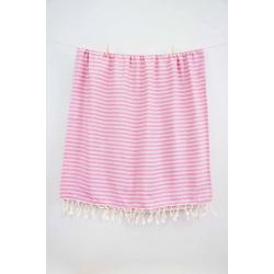 Полотенце Barine Pestemal - Herringbone 100*185 Grey-pink, , 3
