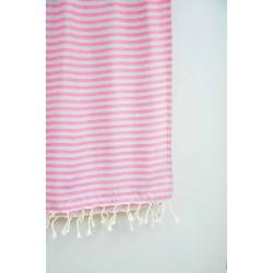 Полотенце Barine Pestemal - Herringbone 100*185 Grey-pink, , 4