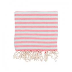 Полотенце Barine Pestemal - Herringbone 100*185 Flamingo-mint , , 2
