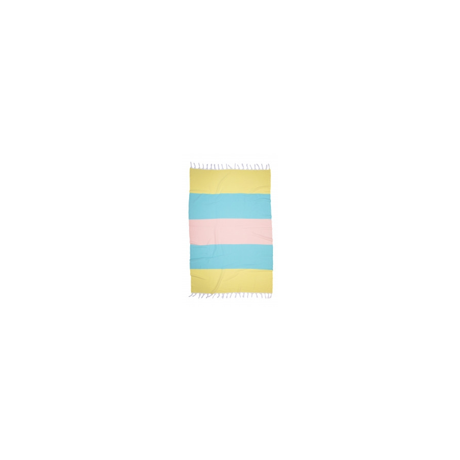 Полотенце Barine Pestemal - Block 95*165 Sunshine-mint-somon