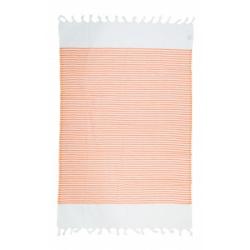 Полотенце Barine Pestemal - White Imbat 90*170 Orange оранжевый, , 2