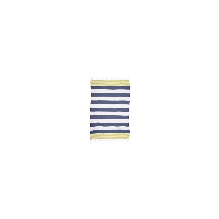 Полотенце Barine Pestemal - Journey 90*170 Green-Indigo