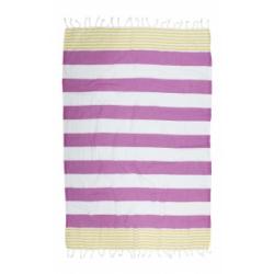 Полотенце Barine Pestemal - Journey 90*165 Olive-Purple, , 2