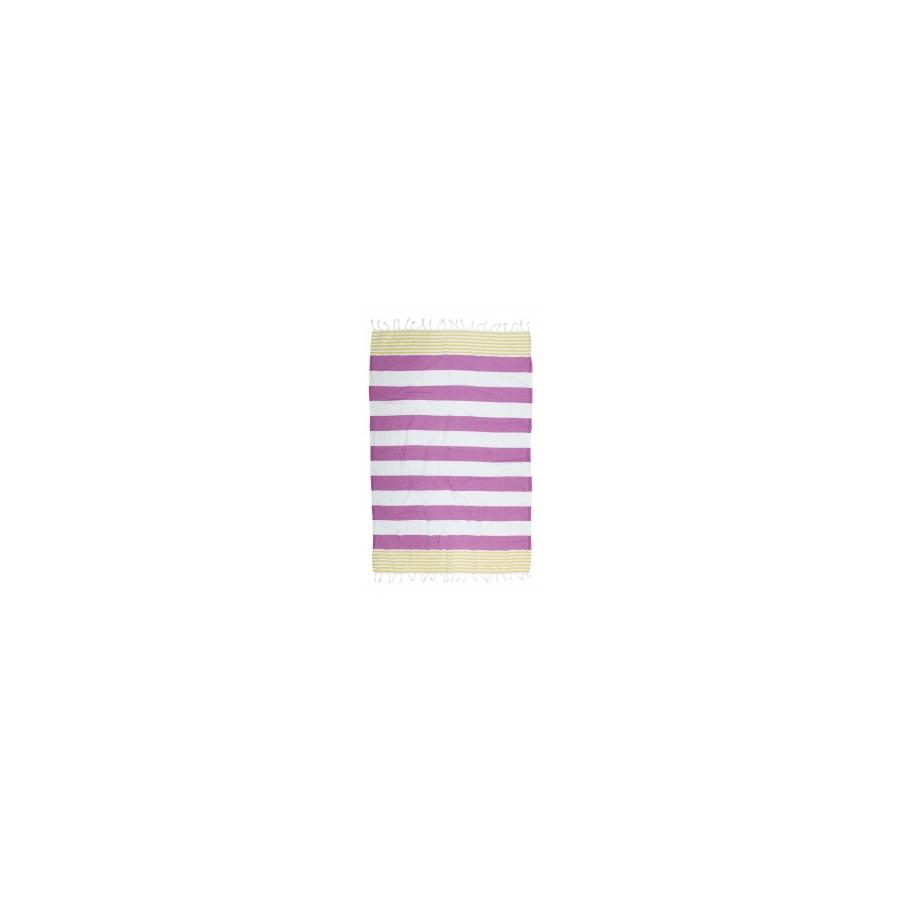 Полотенце Barine Pestemal - Journey 90*165 Olive-Purple