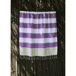Полотенце Barine Pestemal - Journey 90*165 Olive-Purple, , 3
