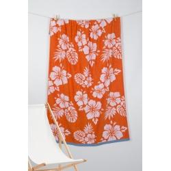 Полотенце Barine Pestemal - Aloha 90*160 Oranj оранжевый, , 2