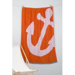 Полотенце Barine Pestemal - Anchor 100*150 Oranj , , 2