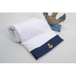 Полотенце Barine Pestemal - Anchor 100*150 Navi синий , , 4