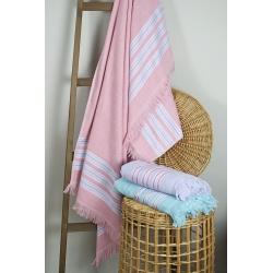Полотенце Barine Pestemal - Escape 100*160 Apricot pink , , 2