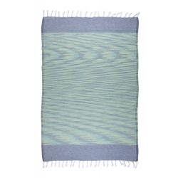 Полотенце Barine Pestemal - Marble 90*160 Green-Indigo, , 4
