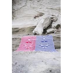 Полотенце Barine Pestemal - Undercover Anchor 95*175 Navy синий, , 4