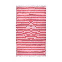 Полотенце Barine Pestemal - Undercover Anchor 95*175 Red красный, , 2