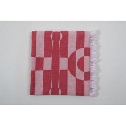 Полотенце Barine Pestemal - Undercover Anchor 95*175 Red красный, , 5