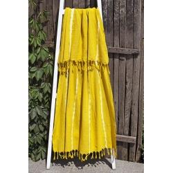 Полотенце Barine Pestemal - Flash 90*160 Mustard, , 2