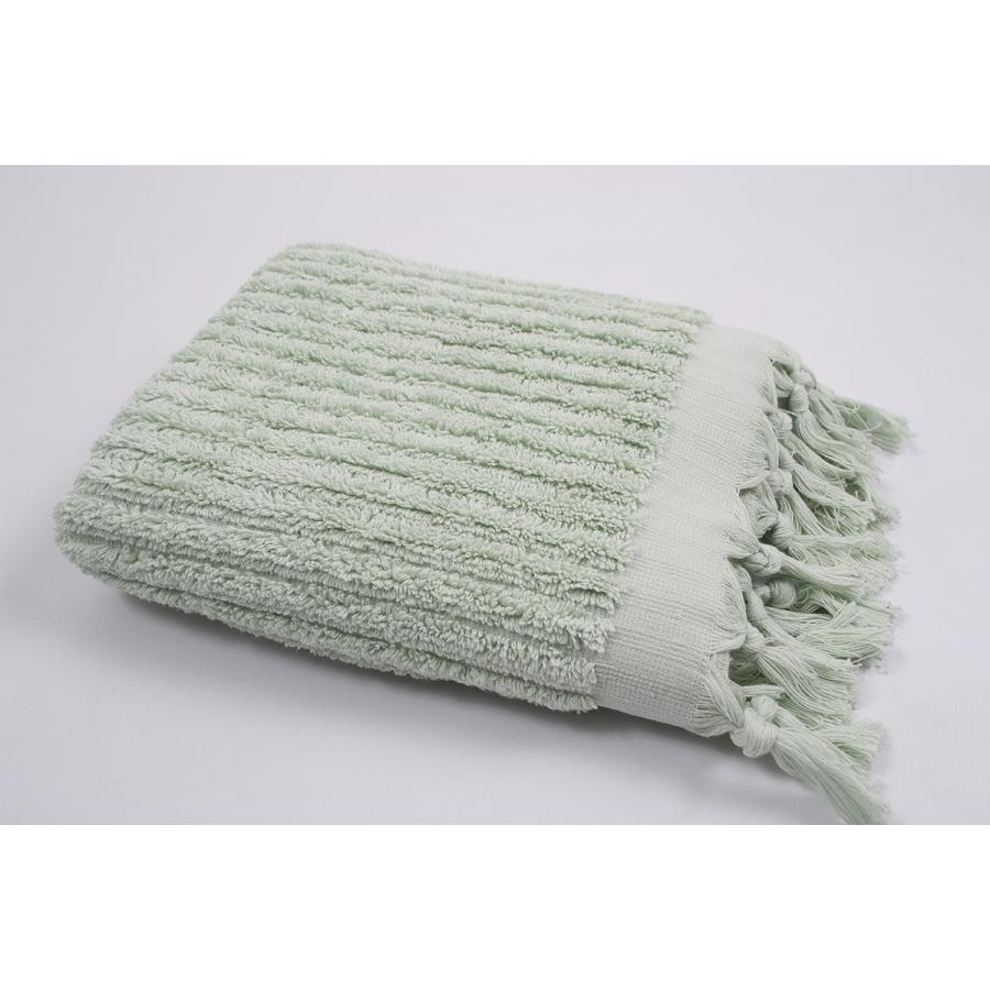 Полотенце Barine - Rib sage бирюзовый 90*170