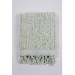 Полотенце Barine - Rib sage бирюзовый 90*170, , 3