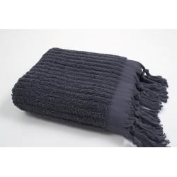 Полотенце Barine - Rib indigo синий 90*170, , 2