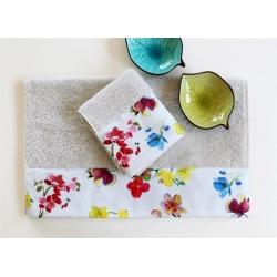 Полотенце махровое Barine - Flower Breeze 50*90, , 2