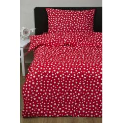 Постельное белье для подростков Lotus Young - Small Stars красный ранфорс, , 2
