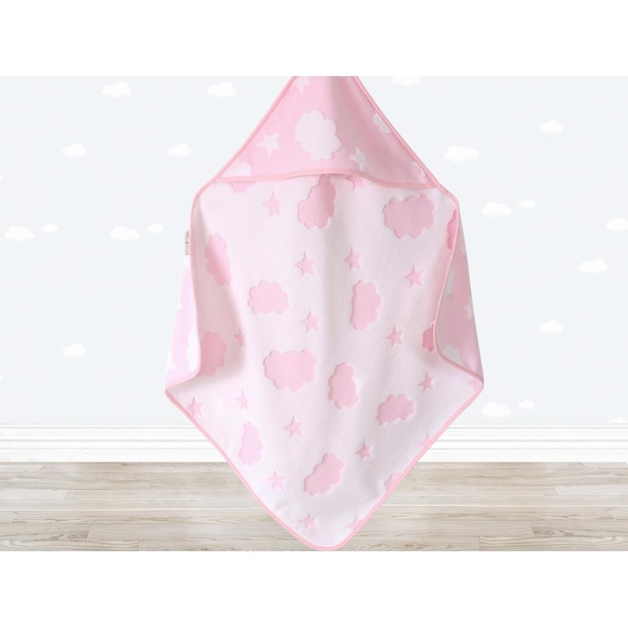 Уголок для купания Irya - Cloud Kundak 75*75 розовый