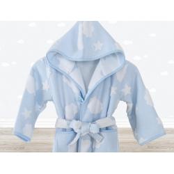 Халат детский Irya - Cloud голубой 7-8 лет, , 2