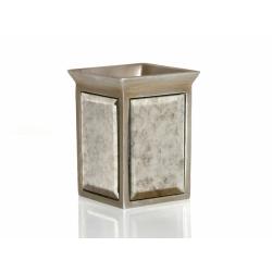 Стакан для зубных щеток Irya - Mirror bronz бронзовый, , 2