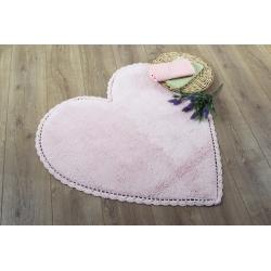 Коврик Irya - Amor pembe розовый 80*80, , 2