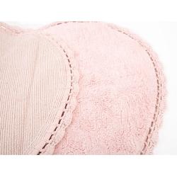 Коврик Irya - Amor pembe розовый 80*80, , 3
