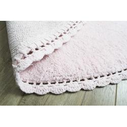 Коврик Irya - Amor pembe розовый 80*80, , 6
