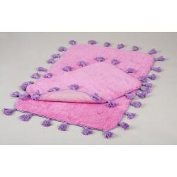 Набор ковриков Irya - Joy pembe розовый 60*90+40*60, , 2
