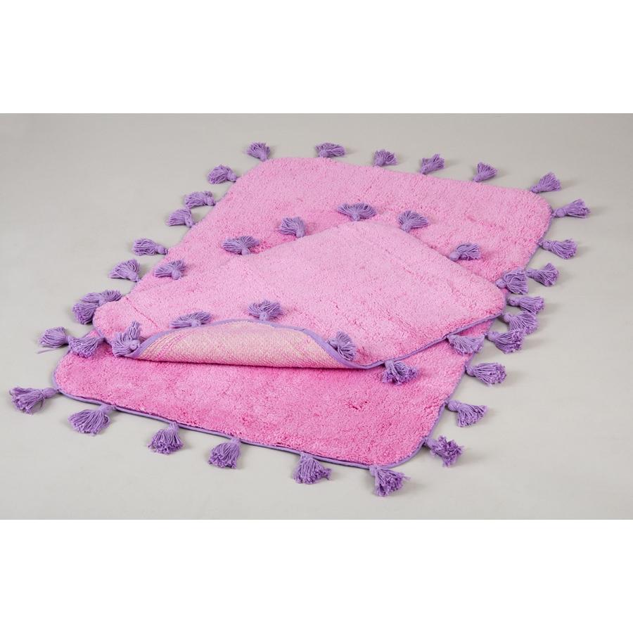 Набор ковриков Irya - Joy pembe розовый 60*90+40*60